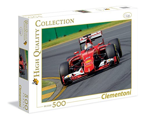 Clementoni - 350179 - Puzzle - Red Bolide - 500 Pièces