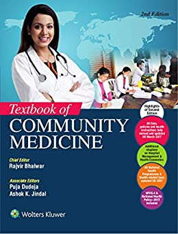 Textbook of Community Medicine, 2/e by [Rajiv Bhalwar, Puja Dudeja, Ashok K. Jindal]