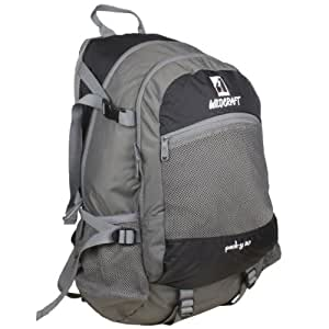 Wildcraft Pack Y 28 Ltrs Black Rucksack (8903338130109)