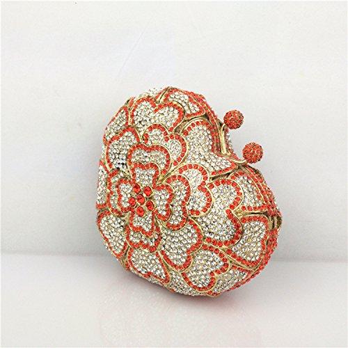 Icegrey, Poschette giorno donna, Orange (arancione) - ICG-ZUZ-04-1 Orange