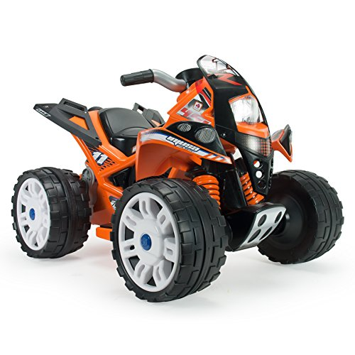 Injusa - Cuatrimoto The Beast 6 V, color naranja (760)