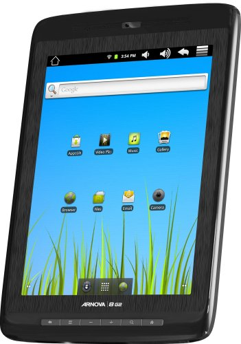 Arnova 8 G2 Tablet 8GB, 20,3cm (8 Zoll) kapa.Multitouch, Android 2.3, 1GHz, 512MB RAM, WiFi, 3Gfähig, microSD Slot, Webcam