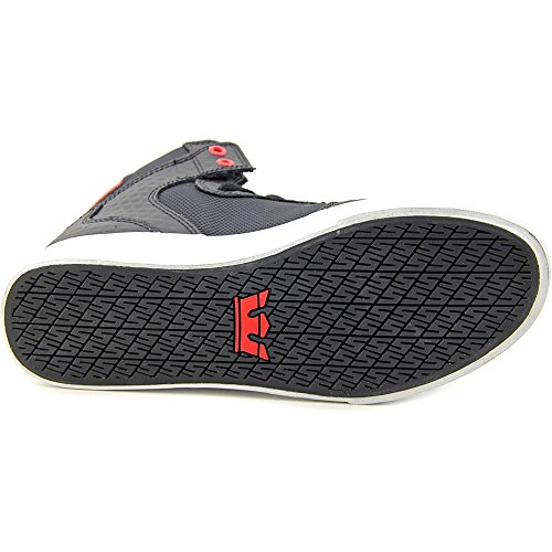 Supra VAIDER, Unisex-Erwachsene Hohe Sneakers Schwarz