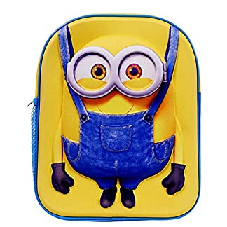 51WzqZY ufL. SS324  - Despicable Me Minion 3D Backpack