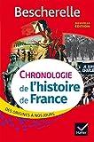 Bescherelle Chronologie de l'histoire de France (édition 2016): le récit des événements fondateurs de notre histoire, des origines à nos jours