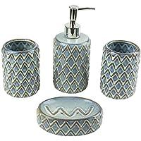 Amazon.es  jabonera ceramica - Juegos de accesorios de baño ... 0cd07e98a70f