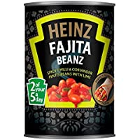 Heinz Fajita Beanz (390g) (Paquete de 2)