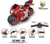 Toys Bhoomi Ultra Fast 4D Moto 2.4Ghz 1:8 Scale Gravity Sensor Handlebar Remote Control Bike