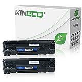 2 Kineco Toner kompatibel zu HP CE285A Laserjet Professional Pro P 1102 WL 1104 1106 1107 1108 1109 W M 1212 1213 NF 1214 1216 NFH 1218 1219 NFS 1130 1210 1132 1134-85A - Schwarz je 2.100 Seiten