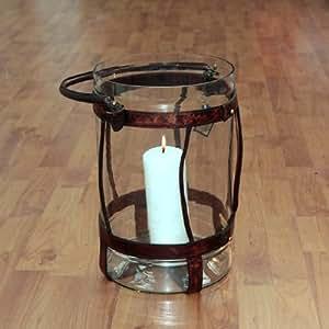 Silea 1310/1000 Lanterne Cuir Verre