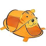 ROOKLY Kinder Pop up Zelt Moskitonetz Tragbare Faltbare Kinder Großes Spielhaus Spielzeug Geburtstagsgeschenk Für Outdoor Indoor Gartenstrand,Orange