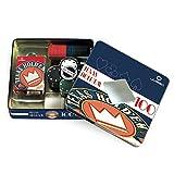 Juego - Texas Hold'Em Box I Cofanetto In Alluminio I Box Da 100 Fiches & Mazzo Di Carte I Attrezzatura Poker Professionale Originale
