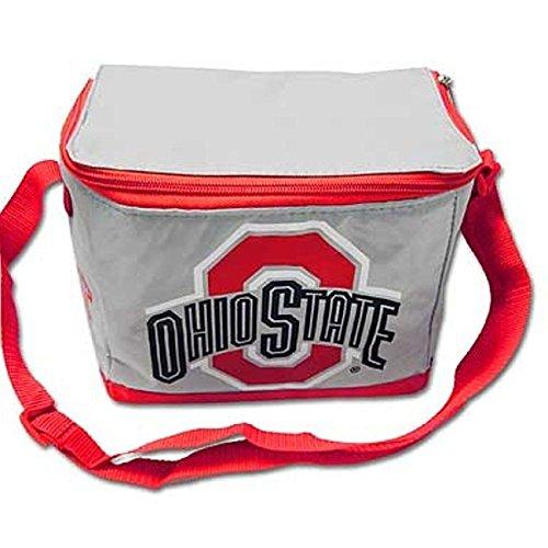 NCAA Ohio State Buckeyes Kann 6Pack Kühler Tote, Isolierte Lunch Box, Heckklappe Tasche, Osu ( - State-geschenk-tasche Ohio