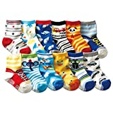 JT-Amigo 12er Pack Baby ABS Antirutsch Socken