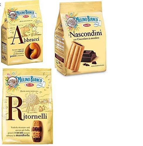 Preisvergleich Produktbild Mulino Bianco Kekse testpaket Abbracci Nascondini,  Ritornelli 2 x 700g 1 x 600g