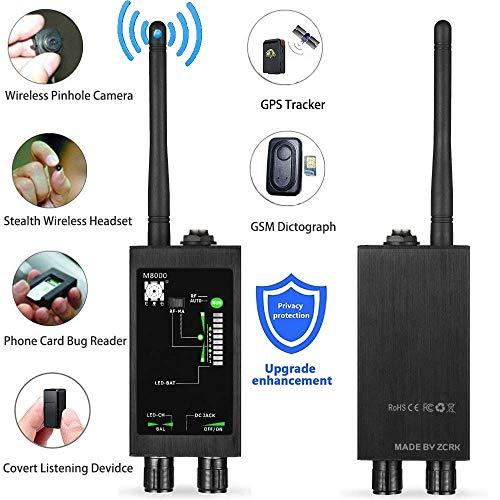 AINGOL Bug-Detektor Anti-Spion RF-Signal-Detektor GPS-Spion-Monitor-Detektor Anti-Tracking Starker Magnetdetektor für versteckte Kamera-Laserlinsen Abhörgerät - Link-20-batterie-monitor