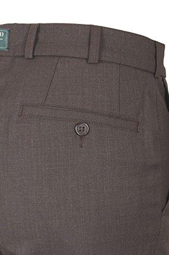 Club of Comfort Herren Businesshose 2590 auch große Größen dunkelbraun (11)