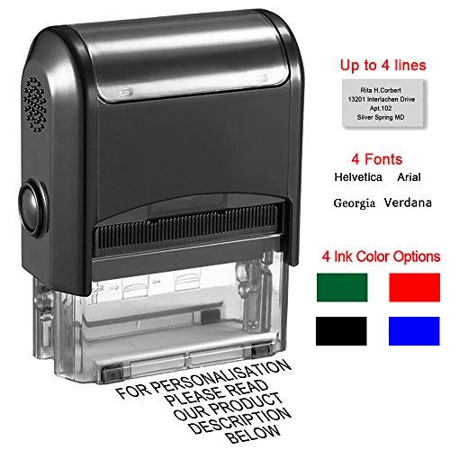 ¿Sigues buscando el sello personalizado ideal?Aquí tienes un sello personalizado con autoentintado.Sobre los sellos:● Estos sellos son personalizables.----● ¿Qué vida útil tiene?Tiene suficiente tinta como para realizar 1.000impresiones. Una vez se ...