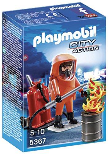 Playmobil Bomberos - Especialista en extinción de...