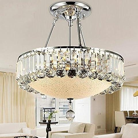 Lustre Design Astre - MULANG Lustre en cristal européen, lumières de