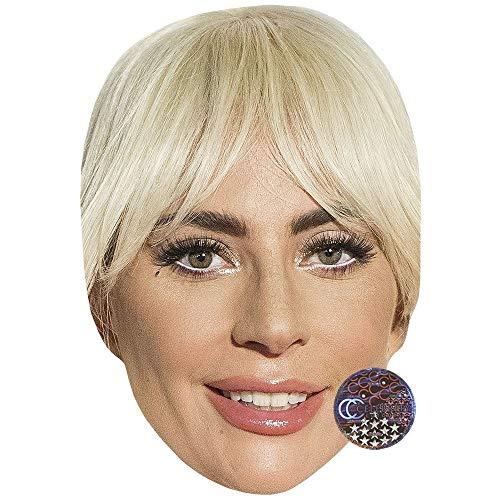 Celebrity Cutouts Lady Gaga (Smile) Big Head.