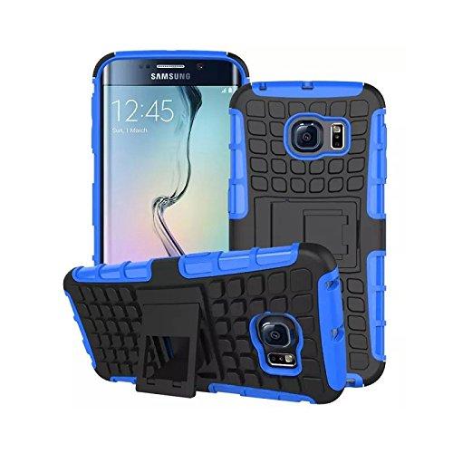 Zhinkarts Étui de protection blindé en silicone pour téléphone portable bleu