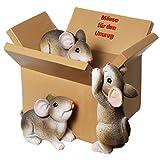 Spardose Mäuse für den Umzug Sparschwein Sparbüchse