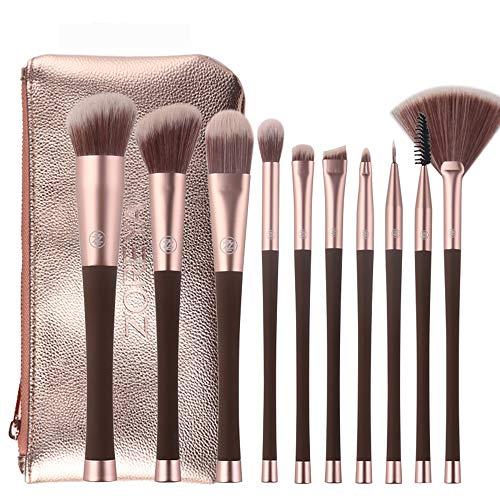 CC-Makeup Brush 10pcs pinceaux de Maquillage Professionnel Ensemble Maquillage Outils de Pinceau kit Eye-Liner Ombre à paupières pinceaux pour Les Yeux Maquillage