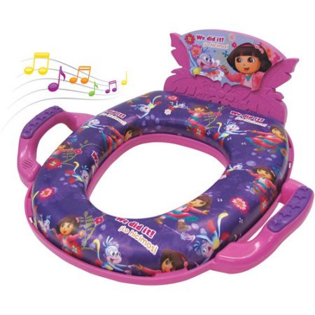 Nickelodeon Dora the Explorer Deluxe Soft Potty Seat with Sound by Nickelodeon