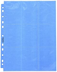 Ultimate Guard 18-Pocket Pages Side-Loading Azul (50)