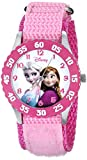 Disney Kids W000970 Frozen Snow Queen Watch with Pink Nylon Band best price on Amazon @ Rs. 1964