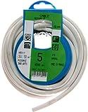 Profiplast PRP513011 Couronne de câble 5 m ho5vvf 3 g 1,5 mm Blanc