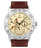 Timex E-Class Analog Beige Dial Men's Watch - NT05 best price on Amazon @ Rs. 4395