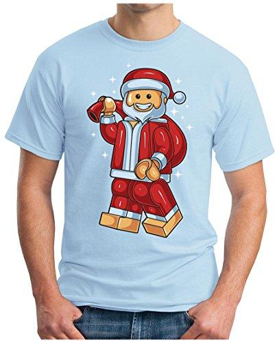 OM3 - TOY-SANTA - T-Shirt GEEK, S - 5XL Himmelblau