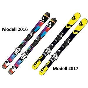 Fischer Ski Stunner SLR JR Freeski-Rocker komplett mit Bindung FJ4/7 AC Carving Jugendski/Kinderski für Jungen und Mädchen
