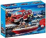 Playmobil 70054 Löscheinsatz Feuerwehr Feuerwehrfahrzeug mit