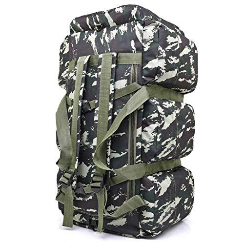 MYXMY Große kapazität Handtasche Rucksack Sport männer Outdoor gepäcktasche Rucksack Camping Reisetasche selbstfahrende Zelt Tasche (85L) (Color : B)