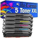 PlatinumSerie® 5 Toner-Kartuschen XXL kompatibel für Samsung CLT-504S CLP-415 NW N CLX-4195 N FN FW Xpress C 1810 W C 1860 FW