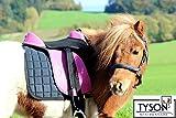 Ponysattel Sattel Minishetty Shetty Mini Pony Pink Schwarz oder Blau