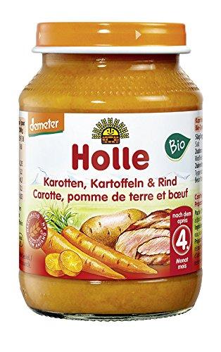 Holle Bio Karotten, Kartoffeln & Rind (1 x 190 gr)