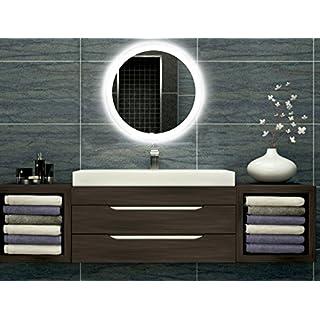 Badezimmer Spiegel Mit Beleuchtung Rund Heimwerker Markt De