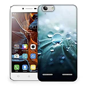 Snoogg Pure Dew Designer Protective Back Case Cover For Lenovo K5 Vibe