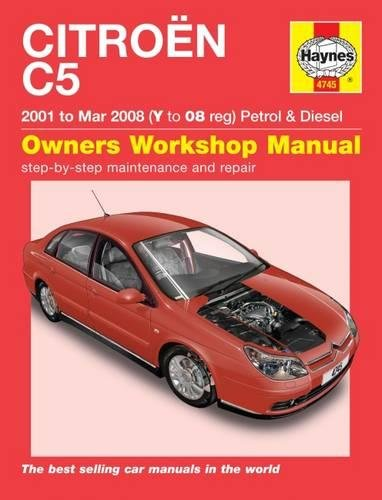 Citroen C5 Owners Workshop Manual por Haynes Publishing