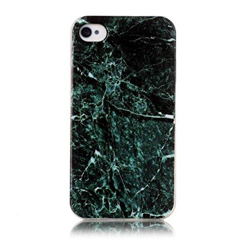 HUANGTAOLI Custodia in Silicone TPU Case Cover per Apple iphone 4 4S C16