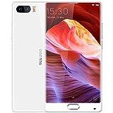 Bluboo S1Smartphone ohne SIM + 4GB 64GB Dual Kameras mit Fingerabdruck-Erkennung 5,5cm mit 2.5d Gebogene Edgeless Android 7.0(MTK6757Helio P25-Octa Core, 2,5GHz, 4G-Netz mit OTG