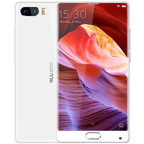Bluboo S1Smartphone ohne SIM + 4GB 64GB Dual Kameras mit Fingerabdruck-Erkennung 5,5cm mit 2.5d Gebogene Edgeless Android 7.0(MTK6757Helio P25-Octa Core, 2,5GHz, 4G-Netz mit OTG -