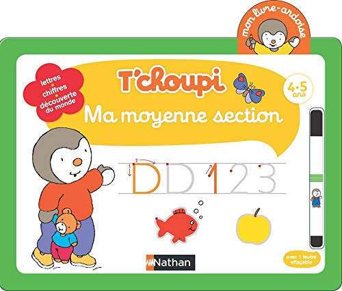 Telecharger Mon Livre Ardoise T Choupi Ma Moyenne Section