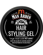 Man Aden Hair Styling Gel High Hold with Wet Looks 50g