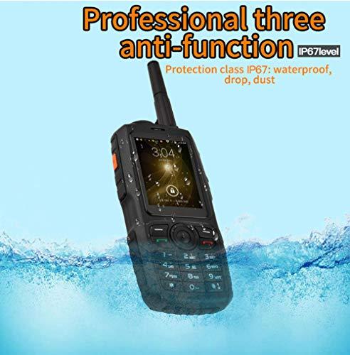IGRNG Mini-Telefone 3G IP67 Robustes wasserdichtes Outdoor-Handy Android WiFi Mini Kleiner Walkie Talkie Intercom - Blu-gsm-3g-entsperrt