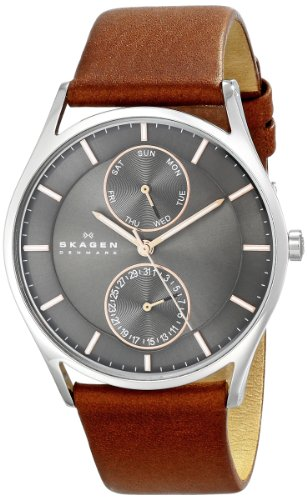 51X%2BJ8oZjaL - Skagen SKW6086 End of Season Holst Grey Mens watch